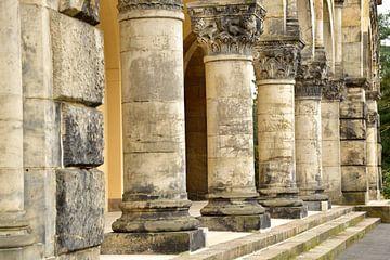 Säulen in Leipzig von Marcel Ethner
