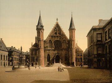 Ridderzaal, Binnenhof, Den Haag von Vintage Afbeeldingen
