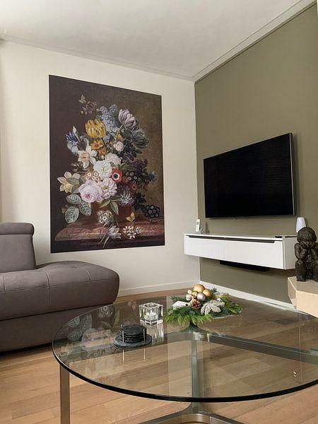 Klantfoto: Stilleven met bloemen, Eelke Jelles Eelkema (gezien bij vtwonen)