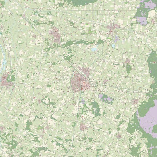 Kaart vanRaalte van Rebel Ontwerp