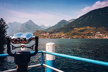 Lake Iseo (Lombardy, Italy) van Alexander Voss