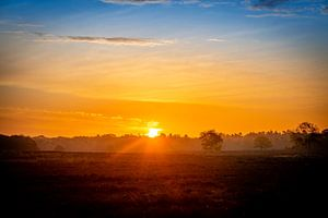 Kleurenspektakel, zonsopkomst