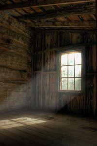 Zon door het raam