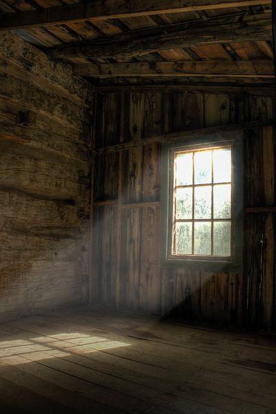 Zon door het raam van Bergkamp Photography