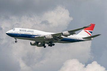 100 jaar British Airways. Deze Boeing 747-400 van British Airways is vanwege dit jubileum gespoten i van Jaap van den Berg