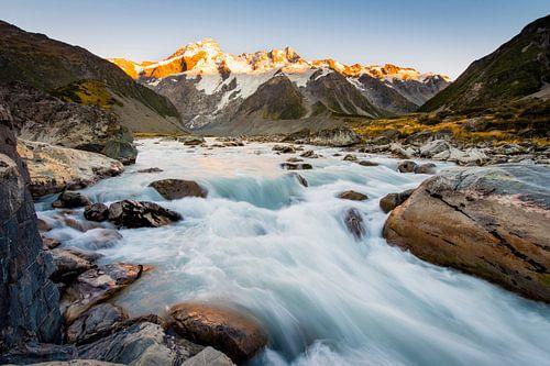 Mueller Glacier von Laura Vink