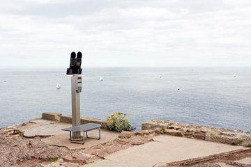 Verrekijker aan de Franse kust van Evelien Oerlemans
