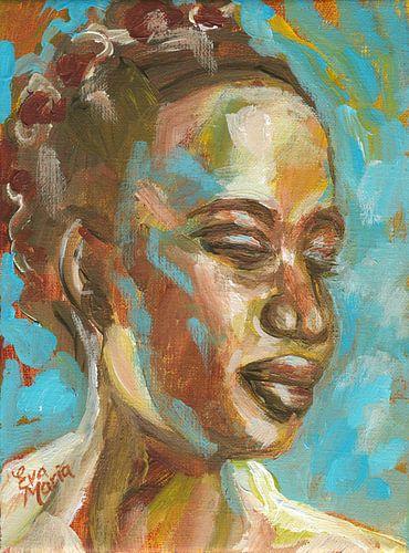 Portret van rust van Eva van den Hamsvoort