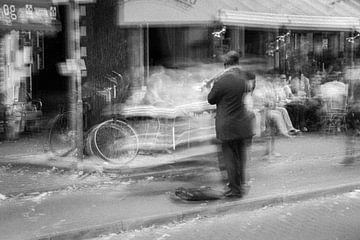 Straßenmusiker von Michael Roubos