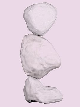 Bilanz 5 - Abstrakte organische Formen von Maurice Dawson