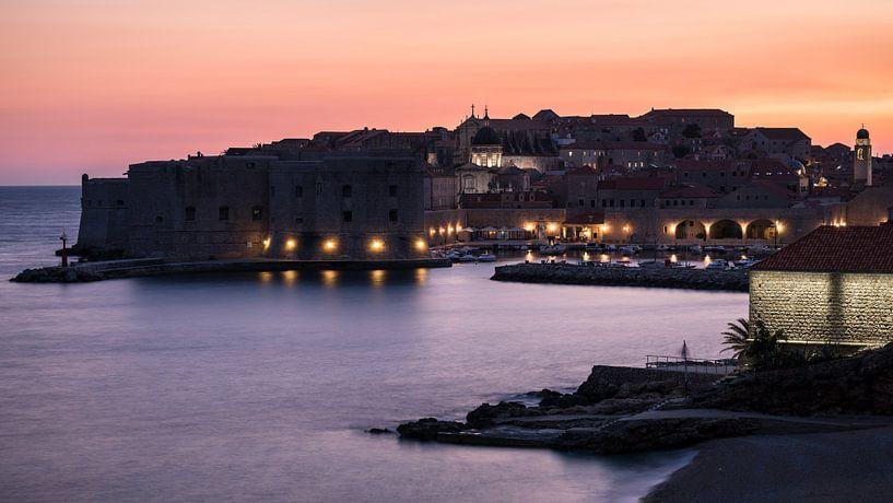 The Port of Dubrovnik van Scott McQuaide