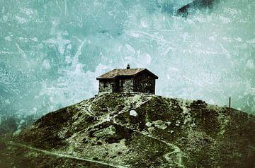 Oostenrijks berglandschap  van Karin Stuurman