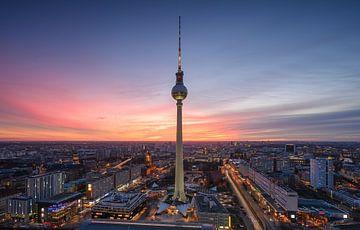 Berlin Skyline von Robin Oelschlegel