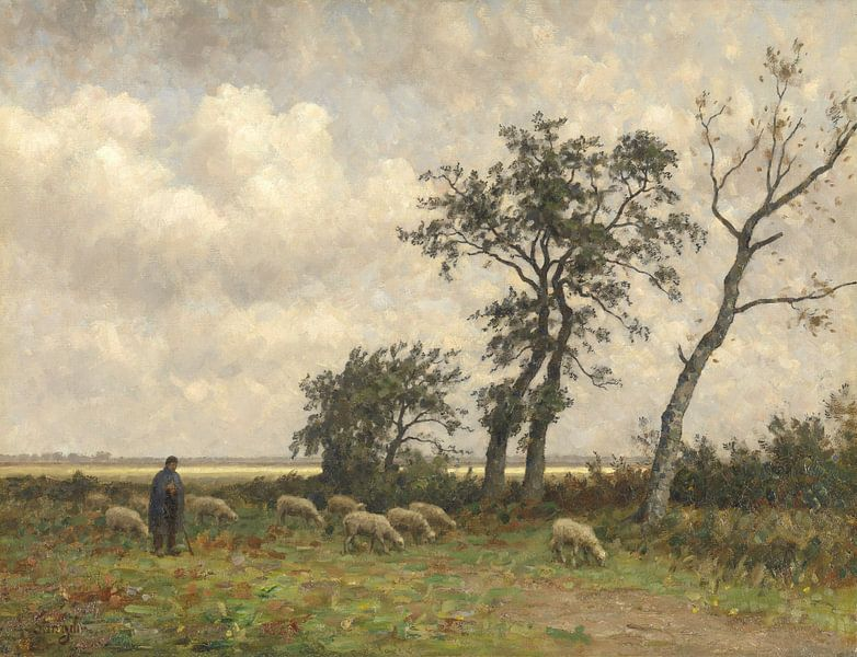 Landschap in Drenthe, Alphonse Stengelin van Meesterlijcke Meesters