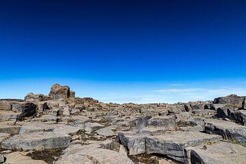 Felsige Landschaft in Island von Mario Verkerk