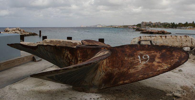 scheepsschroef schroef schip van Frans Versteden