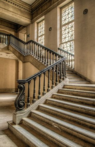 Urbex Courthouse stairs