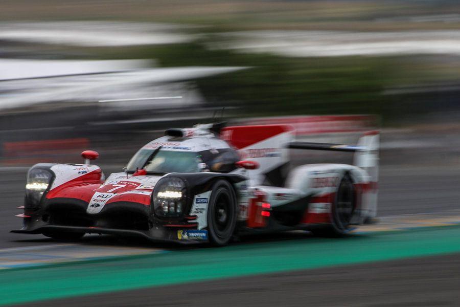 Toyota 24 uur Le Mans 2018 van Richard Kortland