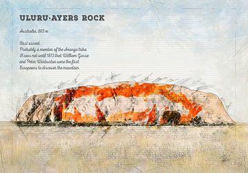 Uluru, Ayers Rock, Australien von Theodor Decker