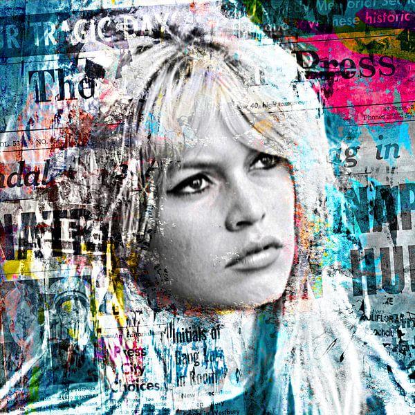Brigitte Bardot dominates the papers von PictureWork - Digital artist