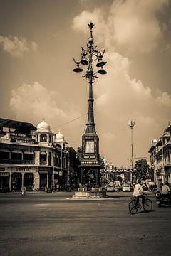 Rotonde in Jaipur van Juul van Wandelen