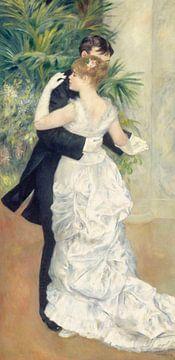 Tanz in der Stadt - Pierre-Auguste Renoir