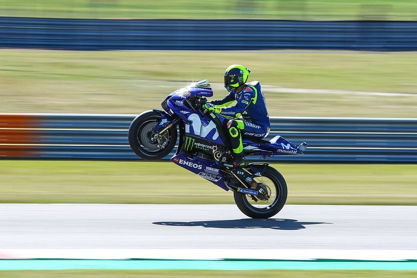 Valentino Rossi van Marco Dek