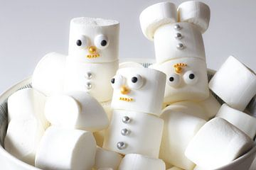 Marshmallow sneeuwpop van SuparDisign