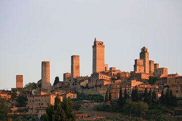 De torens van San Gimignano van Gerard Boerkamp