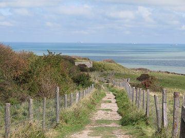 Zeegezicht opaalkust Frankrijk - Sea France - Cote Opale von Ineke Duijzer