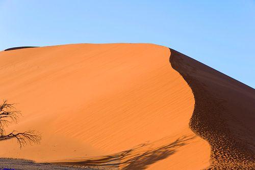 Namibie, woestijn, Afrika, Oranje, kleur