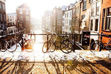 Winter in Utrecht van Portrait of Holland