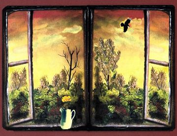 Am Fenster van Vera Markgraf