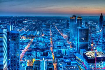 Frankfurt Blue Hour von Kilian Schloemp