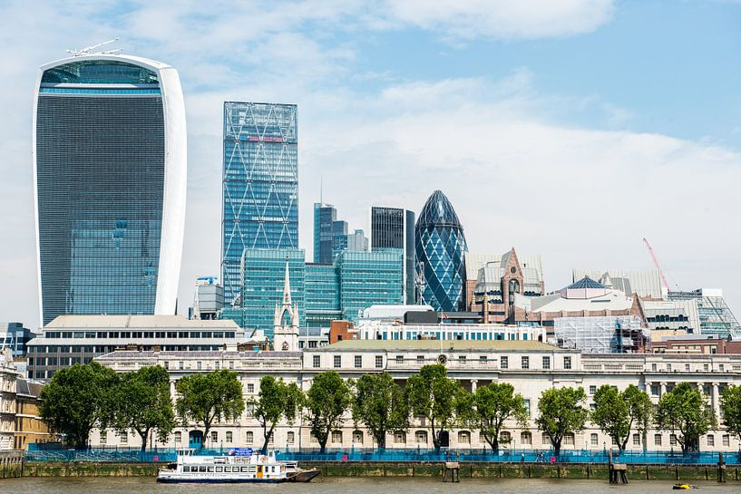 Modern Londen van Barbara Koppe