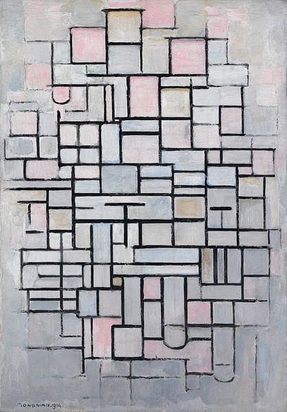 Piet Mondriaan. Composition No IV van 1000 Schilderijen