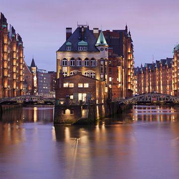Fleetschlösschen, Speicherstadt, Hamburg van Markus Lange