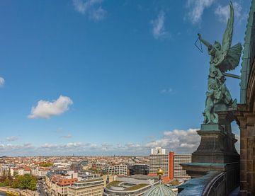Panorama Berlin vom Dom aus von Peter Bartelings Photography