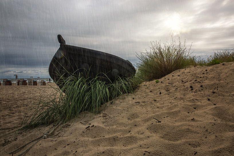 Altes Boot von Sergej Nickel
