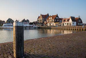 Haven zicht in Volendam