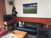 Kundenfoto: Schapen op Texel von Ronnie Westfoto, auf leinwand