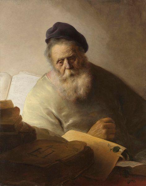 Buchhalter an seinem Schreibtisch, Jan Lievens von Meesterlijcke Meesters