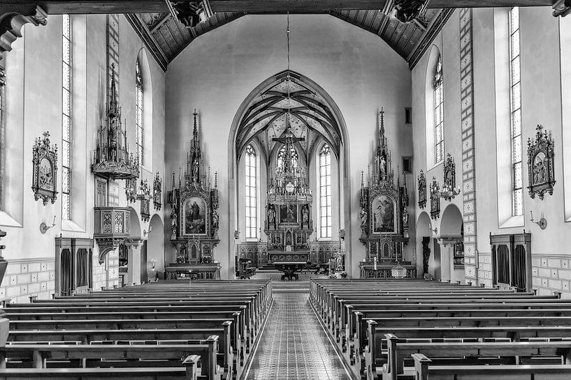 Stadtpfarrkirche St Johann Rapperswill van Don Fonzarelli