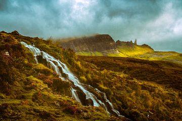 Brautschleier Wasserfall von Lars van de Goor