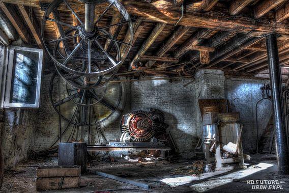 Urbex: oude molen