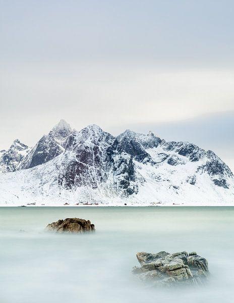 Flakstad Noorwegen van Steven Hendrix