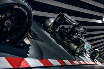Mercedes-Benz Formule 1 Lewis Hamilton van Bas Fransen