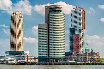 Architecture in Rotterdam. van