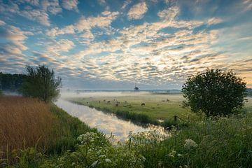 Nebliger Morgen von Max ter Burg Fotografie