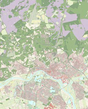 Kaart vanArnhem
